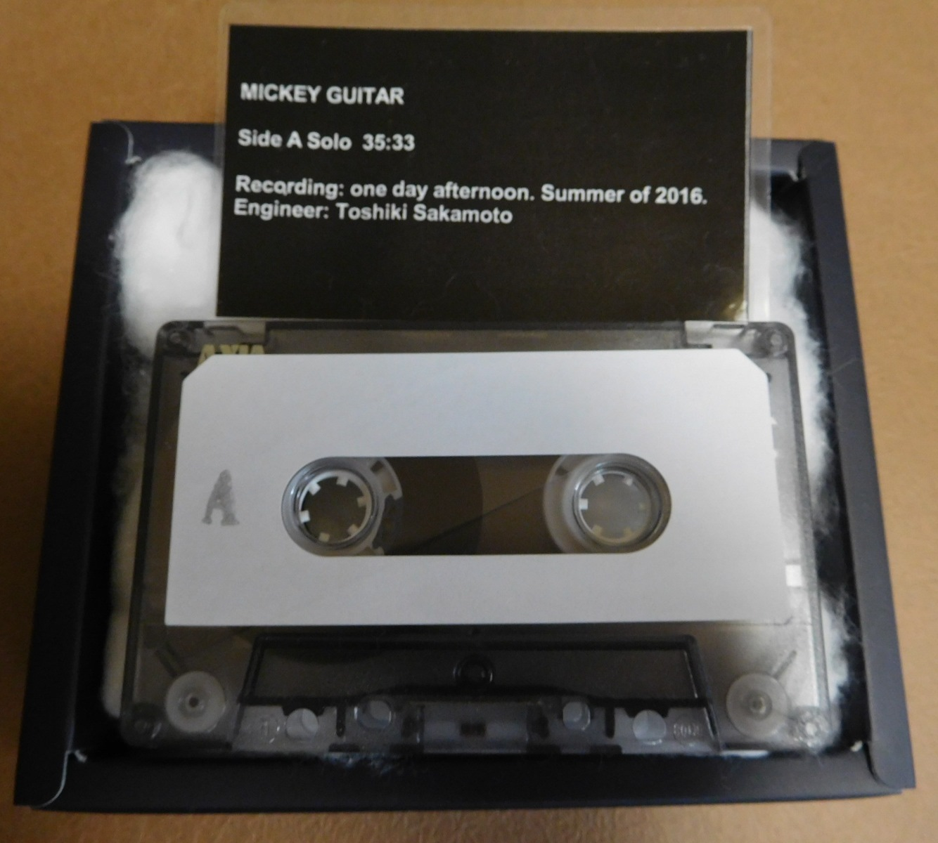 MICKEY GUITAR (CASSETTE TAPE)